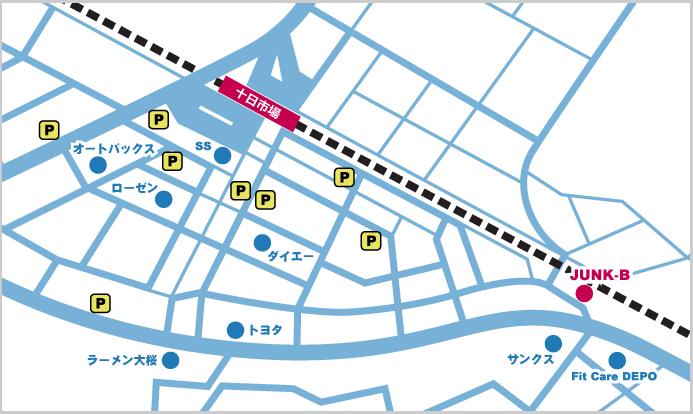十日市場地図